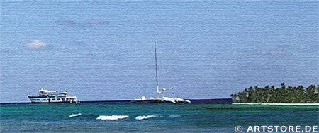 Wandbild Jack Dyrell DREAM BEACH Detailausschnitt