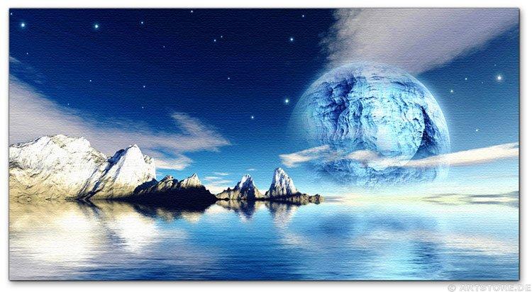 Wandbild Jack Dyrell BLUE REFLECTIONS