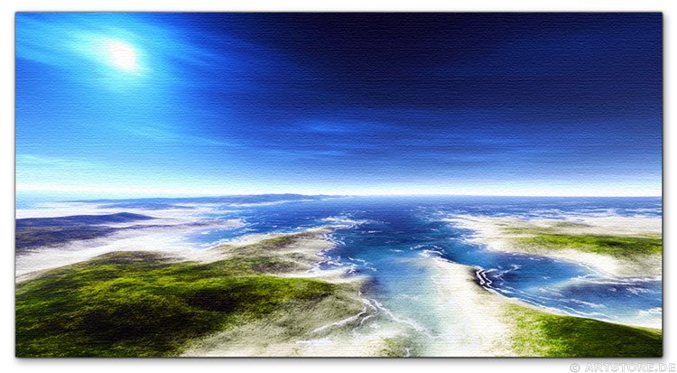 Wandbild Jack Dyrell FLORIDA KEYS