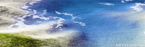 Wandbild Jack Dyrell FLORIDA KEYS Detailausschnitt
