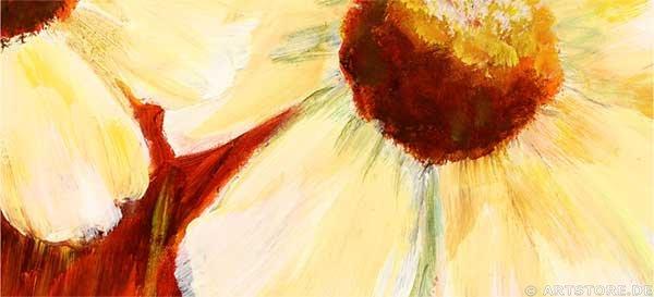 Wandbild Mia Morro SPRING FLOWERS Detailausschnitt