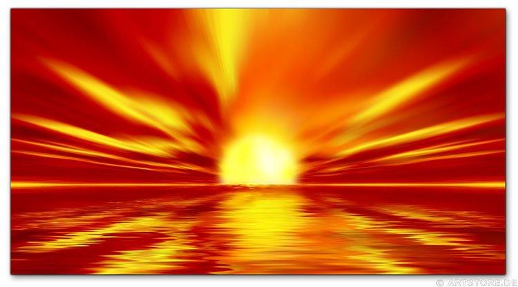 Wandbild Jack Dyrell WONDERFUL SUN