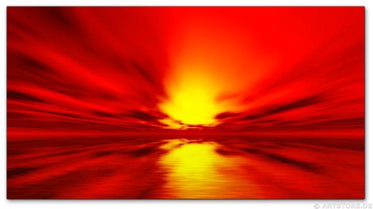 Wandbild Jack Dyrell DEEP SUN