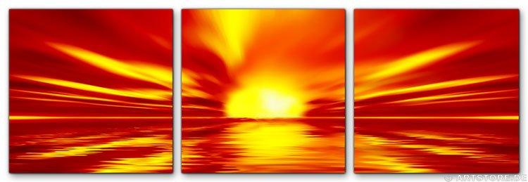 Wandbild Jack Dyrell WONDERFUL SUN - EDITION