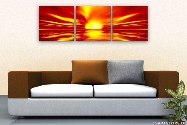Wandbild Jack Dyrell WONDERFUL SUN - EDITION Wohnbeispiel