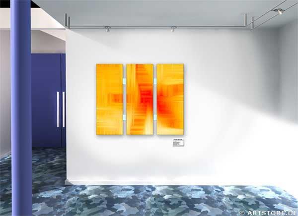 Wandbild Jack Dyrell CROSSING LINES Wohnbeispiel