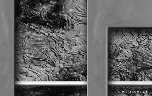 wandbilder jack dyrell silber metall kunstdrucke leinwand keilrahmen. Black Bedroom Furniture Sets. Home Design Ideas