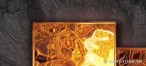 Wandbild Jack Dyrell DER GOLDENE WEG Detailausschnitt