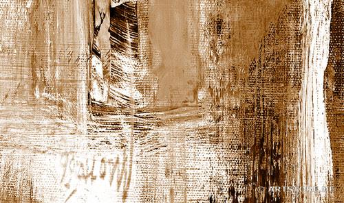 wandbilder jack dyrell cognac abstrakt  braun