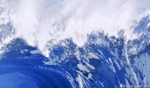 Wandbild Jack Dyrell HAWAII WELLE Detailausschnitt