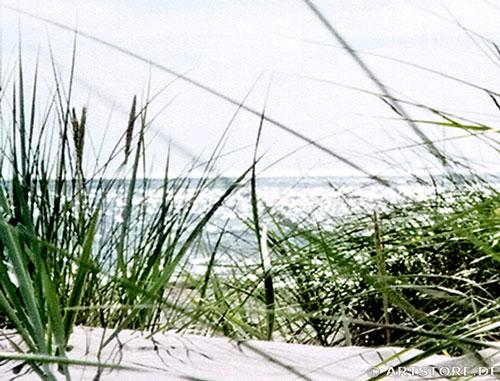 Wandbild Jack Dyrell SOMMER AM STRAND Detailausschnitt