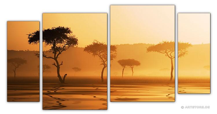 Wandbild Jack Dyrell AFRIKA REFLEKTION