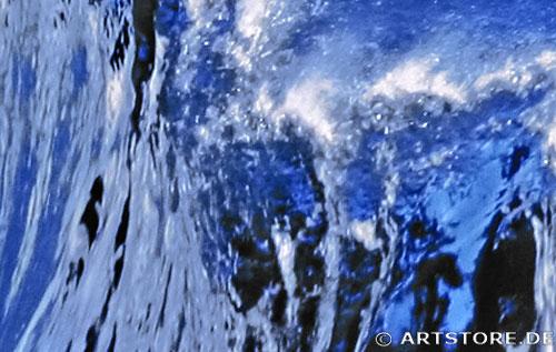 Wandbild Jack Dyrell WELLE - HAWAII Detailausschnitt