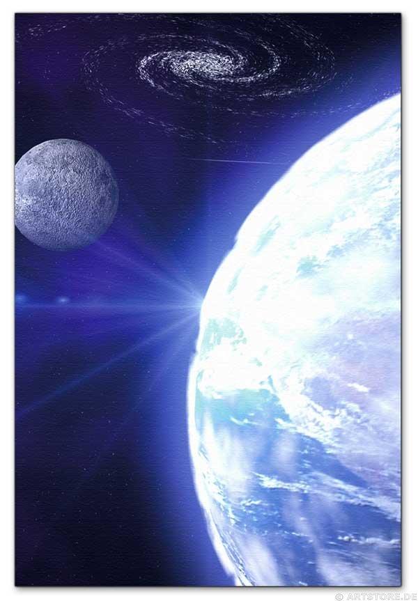 Wandbild Jack Dyrell BLUE PLANET 2