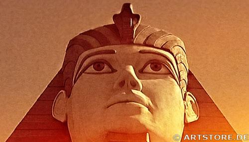 Wandbild Jack Dyrell MYTHOS ÄGYPTEN Detailausschnitt