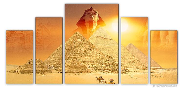Wandbild Jack Dyrell MYTHOS ÄGYPTEN