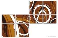 Wandbilder Jack Dyrell RETRO STYLE BRAUN - A