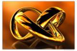 Wandbild Jack Dyrell NEVER ENDING GOLD