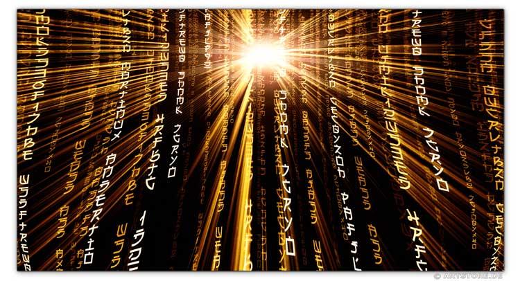 Wandbild Jack Dyrell POWER MATRIX