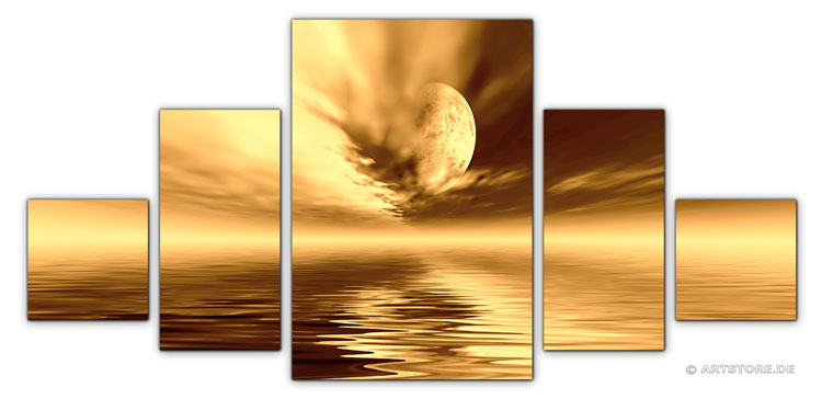 Wandbild Jack Dyrell COGNAC SUNSET