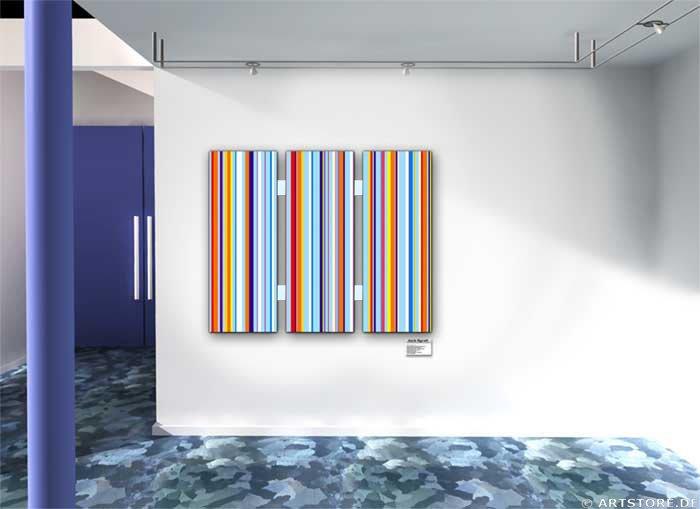 Wandbild Jack Dyrell MODERN BRAND Wohnbeispiel