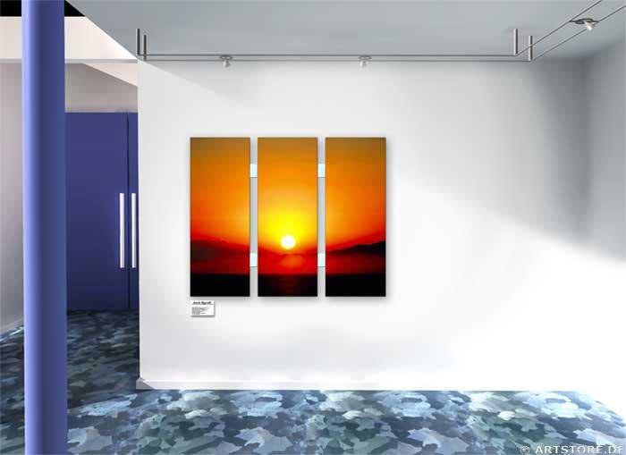 Wandbild Jack Dyrell SUNRISE No.1 Wohnbeispiel