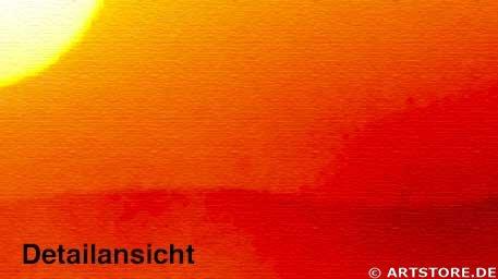 Wandbild Jack Dyrell SUNRISE No.1 Detailausschnitt