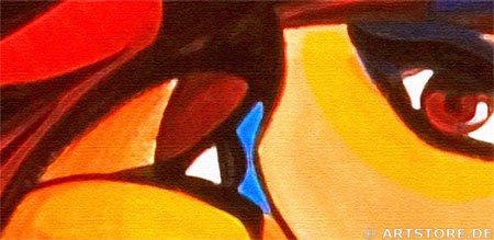 Wandbild Mia Morro 1000 FACES Detailausschnitt