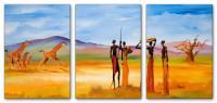 Wandbilder Mia Morro MASSAI WILDLIFE