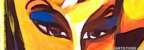 Wandbild Mia Morro BEAUTYs Detailausschnitt