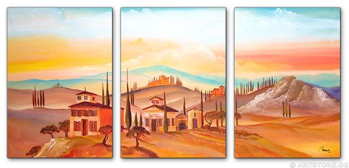 Wandbild Mia Morro MEDITERRAN
