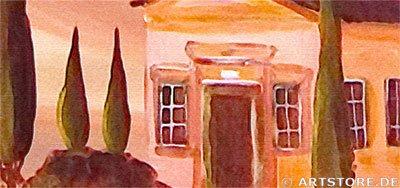 Wandbild Mia Morro MEDITERRAN Detailausschnitt