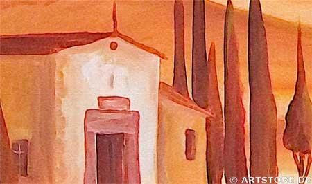 Wandbild Mia Morro TUSCANY Detailausschnitt