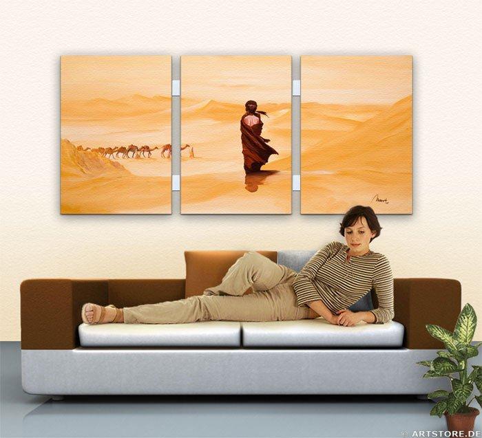 Wandbild Mia Morro FORBIDDEN LOVE - EDITION Wohnbeispiel