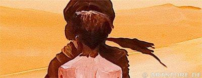 Wandbild Mia Morro FORBIDDEN LOVE - EDITION Detailausschnitt