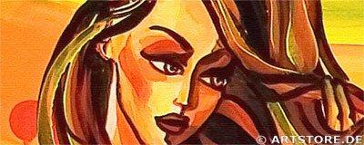 Wandbild Mia Morro SUMMER FEELINGS Detailausschnitt