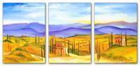 Wandbilder Mia Morro TUSCANY COLORS
