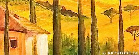 Wandbild Mia Morro TUSCANY COLORS Detailausschnitt