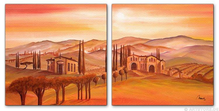 wandbilder mia morro villa toscana kunstdrucke. Black Bedroom Furniture Sets. Home Design Ideas
