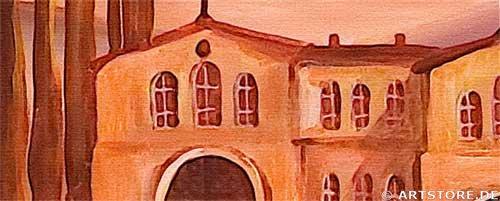 Wandbild Mia Morro VILLA TOSCANA Detailausschnitt