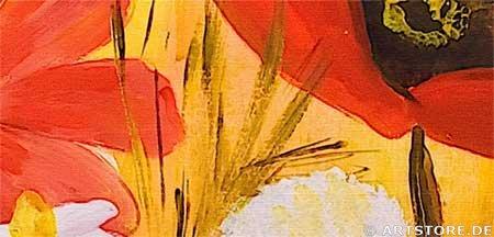 Wandbild Mia Morro FLOWER POWER Detailausschnitt