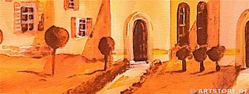 Wandbild Mia Morro MY VILLAGE - EDITION Detailausschnitt