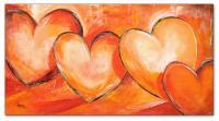 Wandbilder Mia Morro LOVELY HEARTS