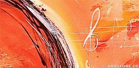 Wandbild Mia Morro LOVELY HEARTS Detailausschnitt