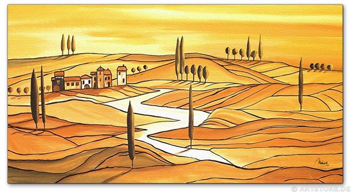 Wandbild Mia Morro TUSCANY ITALY
