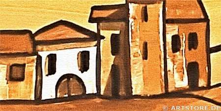 Wandbild Mia Morro TUSCANY ITALY Detailausschnitt