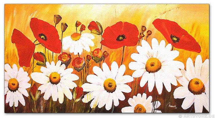 Wandbild Mia Morro GREAT FLOWER FIELD