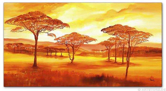 Wandbild Mia Morro AFRICAN SUMMER