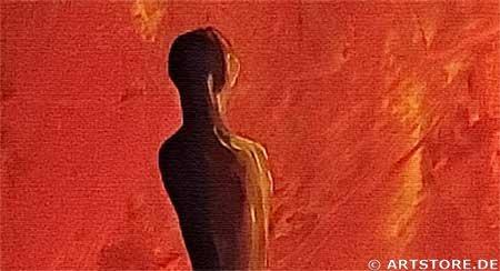Wandbild Mia Morro IN THE LIGHT Detailausschnitt