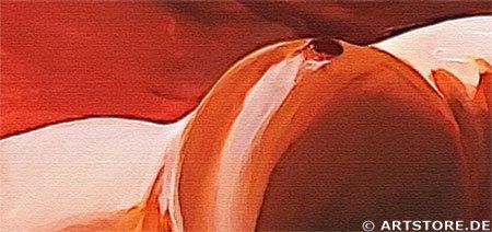 Wandbild Mia Morro NAKED WOMAN - AKT Detailausschnitt